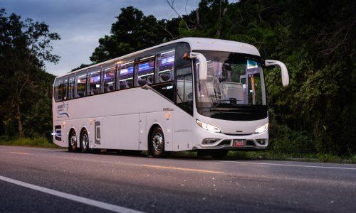 รถบัสเช่า รถรับส่งพนักงาน เช่ารถทัวร์