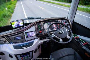 รถบัสเช่า รถทัวร์ รถรับส่งพนักงาน เช่ารถทัวร์ ภัสสรชัยทัวร์ รถบัสชั้นเดียว